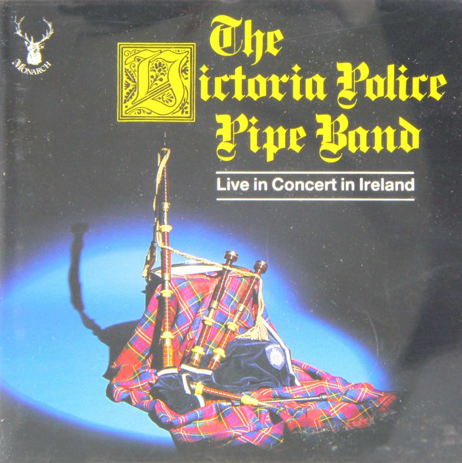 The Victoria Police Pipe Band, Live in Concert in Ireland by KRL/Monarch