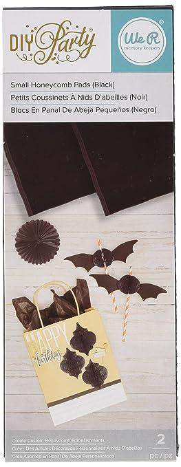 תוצאת תמונה עבור DIY Party Honeycomb Pads - Small Black