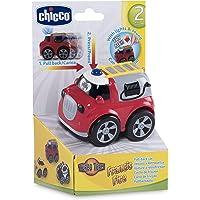 Chicco-00007902000000 Big & Small Mini-vehículos, Color Rojo, 6m+ (00007902000000)