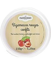 LA PATELIERE Bigarreaux Rouges Confits 150 g - Lot de 4