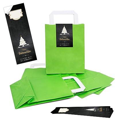 Papel de estraza 100 claro verde natural bolsas de papel ...