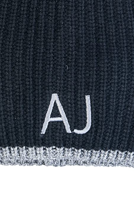COMPLETO ARMANI JEANS SCIARPA + CAPPELLO 937504 CC788 (BLUE GRAPHITE)   Amazon.it  Abbigliamento 0deea1b090b8
