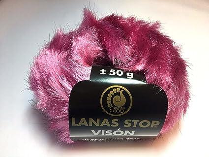 Lanas Stop-ovillos de peletería, color beige Lanas--Stop-310,