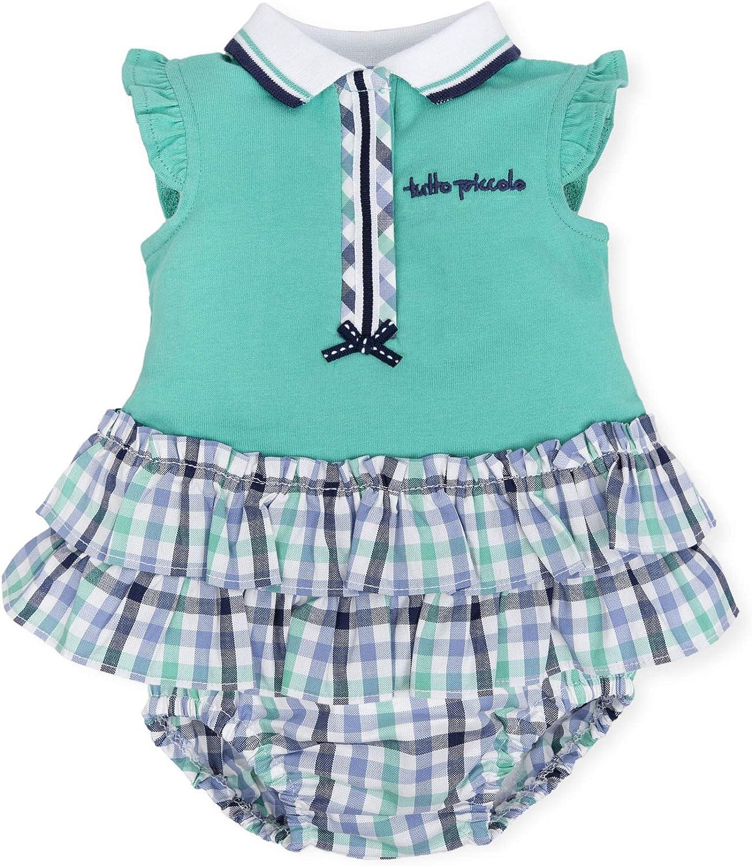Tutto Piccolo 6793S19 Vestido Bebé y Niña con Braguita Algodón ...
