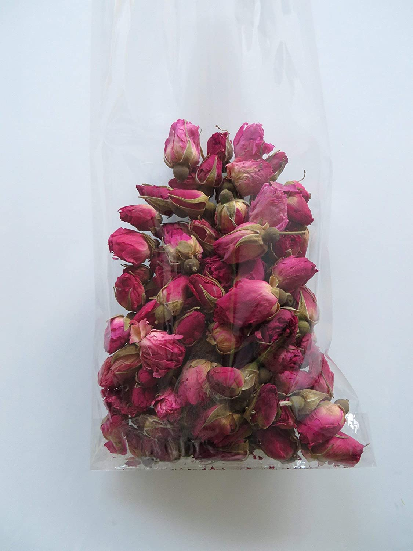 Friandises naturelles et dé licieuses - Boutons de roses sé ché es pour nacs, lapins, cochons d'inde, chinchillas cochons d' inde