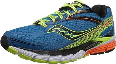 Saucony Ride 8 - Zapatillas de Running Unisex, Color Azul/Amarillo ...