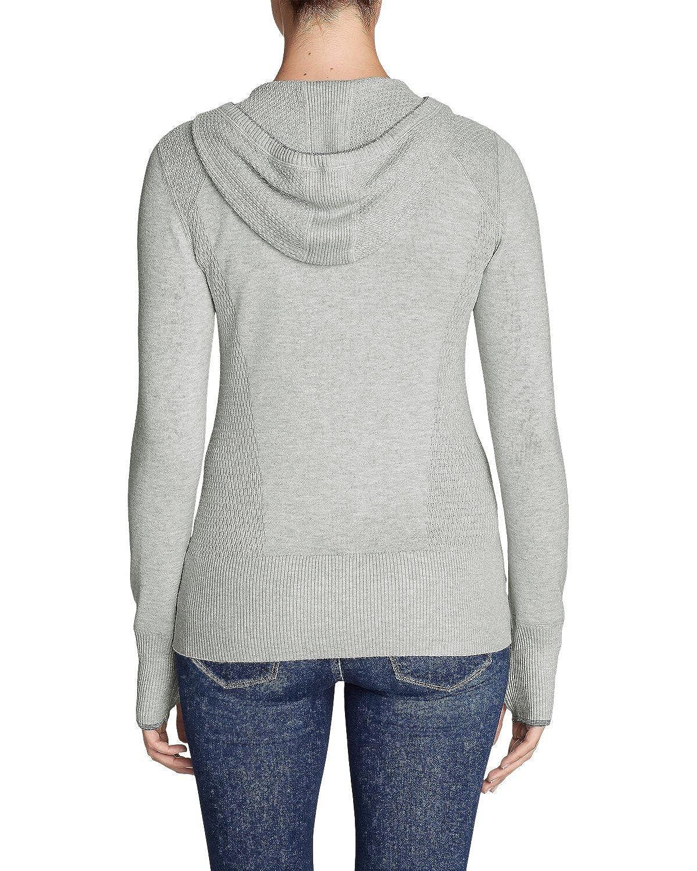 5aaca5a77d808 Eddie Bauer Women s Engage Full-Zip Hoodie Sweater