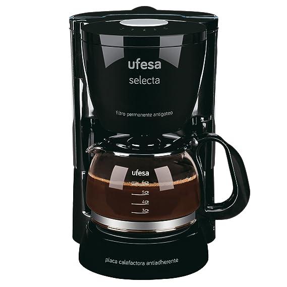 Ufesa 60 CG7231 Avantis Selecta-Cafetera de Goteo, 800W, Jarra de ...