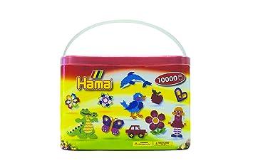 Hama 202 67 Loisirs Créatifs Baril De 10000 Perles à Repasser