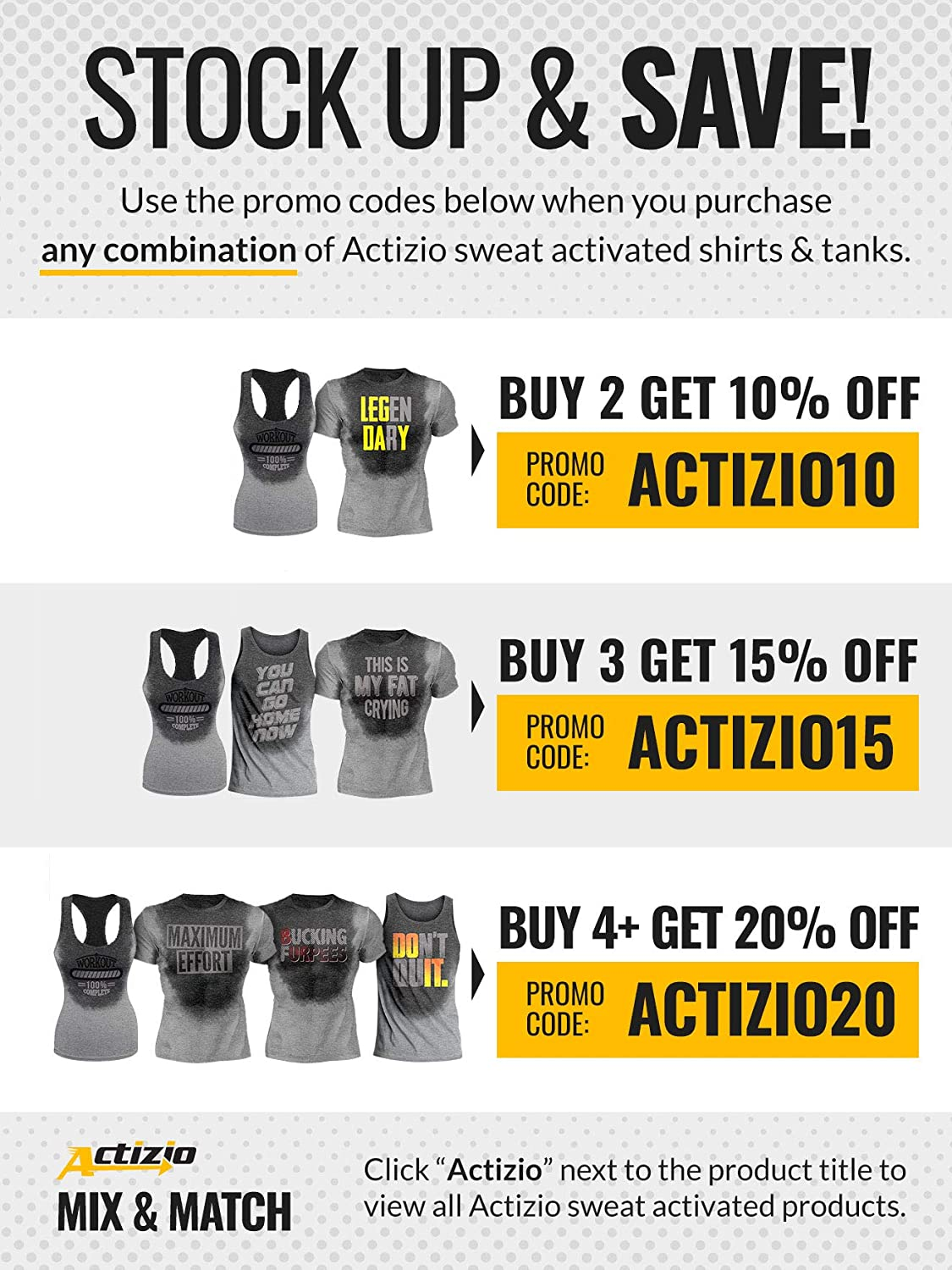 Actizio Sweat Activated Funny Workout Womens Tank Top Workout Complete