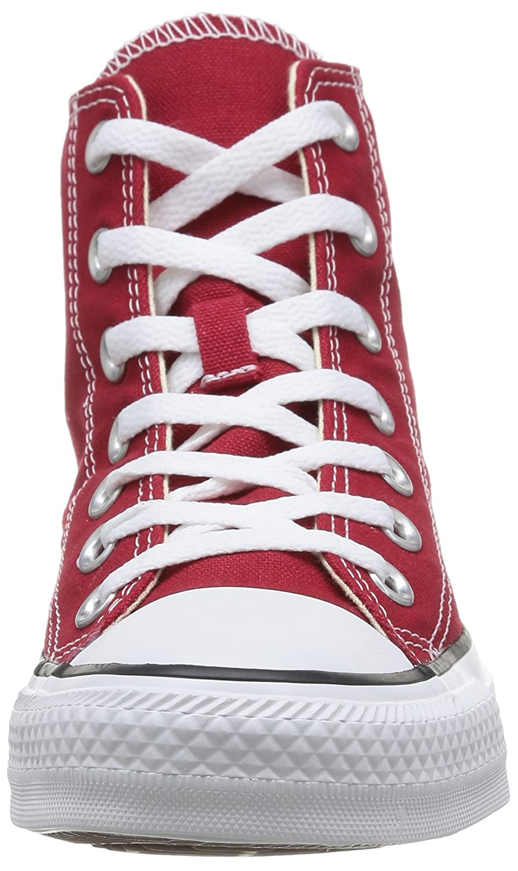 Converse Unisex-Erwachsene Chuck Taylor (Rouge All Star-Hi High-Top, Schwarz Rot (Rouge Taylor Brique) 2c6156