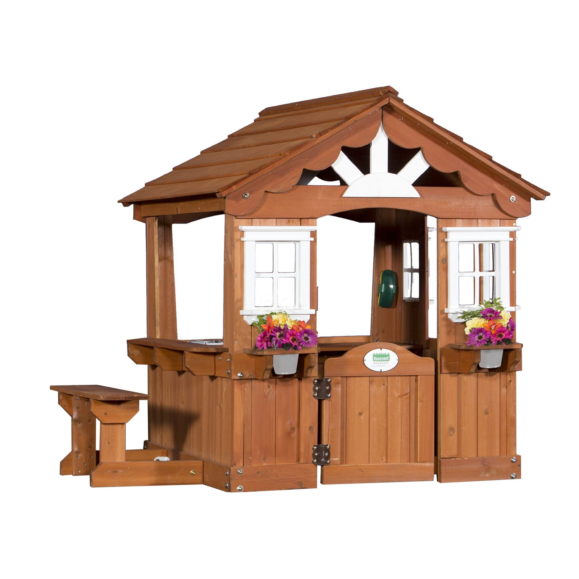Backyard Discovery Scenic All Cedar Outdoor Wooden Playhouse by Backyard Discovery (Image #5)