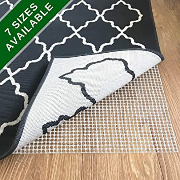 8x11 Premium Rug Pad Thick Non Slip Padding for Hardwood CUT TO FIT YOUR RUG