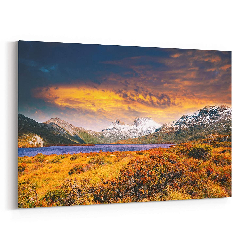 Amazon Com Cradle Mountain Canvas Print Cradle Mountain Canvas Art