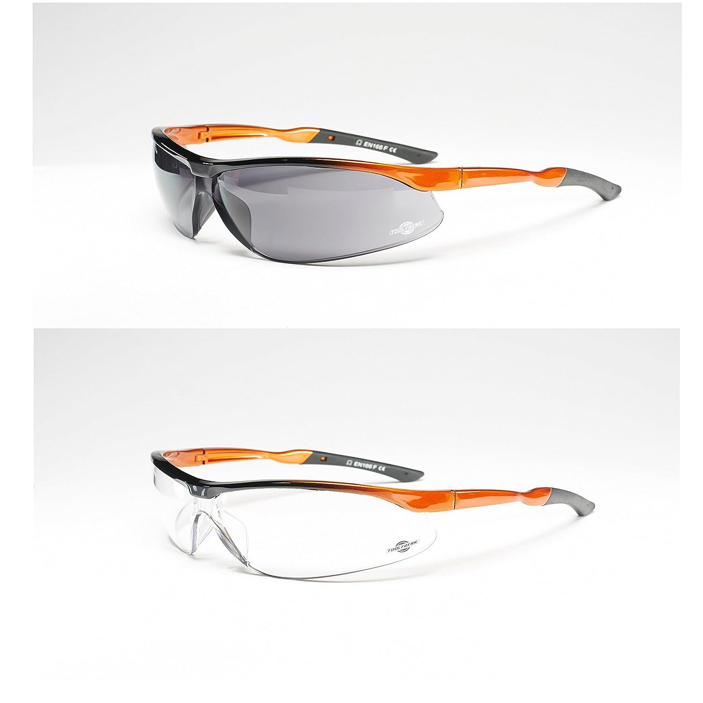 Agenten-Schutzbrille von ToolFreak mit maximalem UV-Schutz für Damen ...