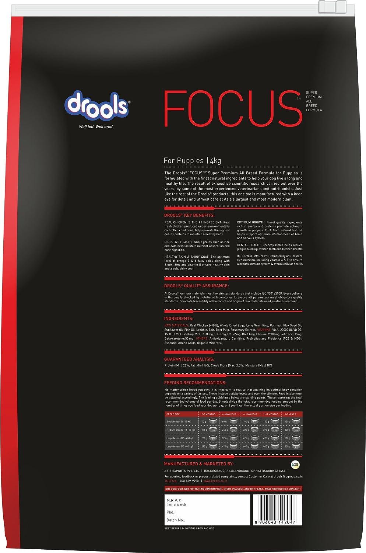 Buy drools focus puppy super premium dog food 4kg online at low buy drools focus puppy super premium dog food 4kg online at low prices in india amazon geenschuldenfo Gallery
