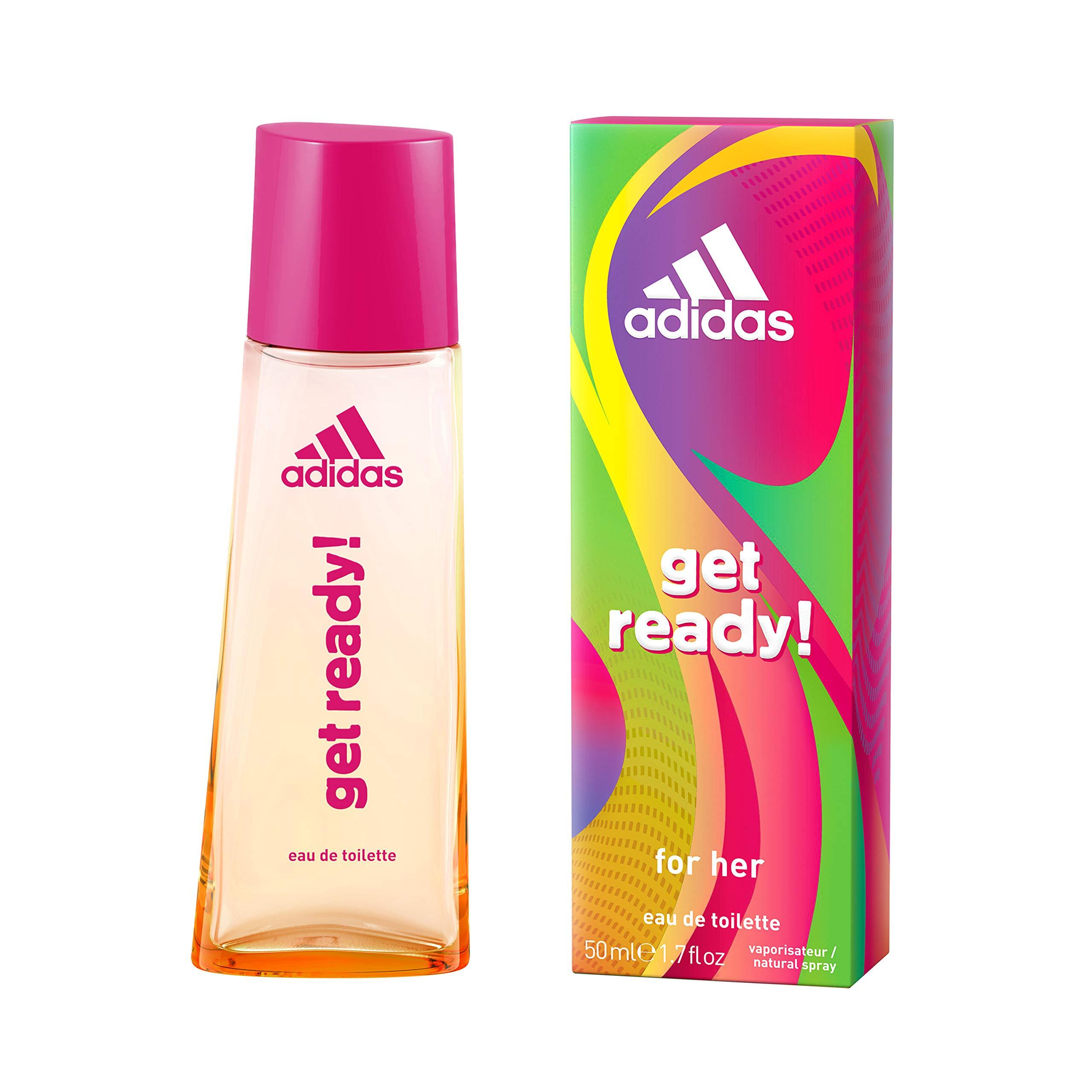 Adidas Get Ready Eau de Toilette para Mujer 50 ml: Amazon
