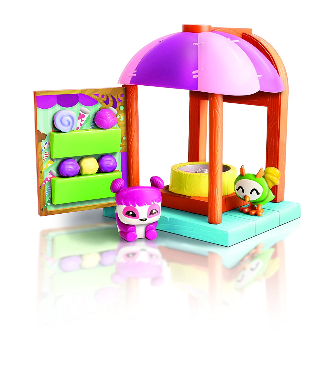 Amazon Com Animal Jam Cotton Candy Hut Playset Toys Games