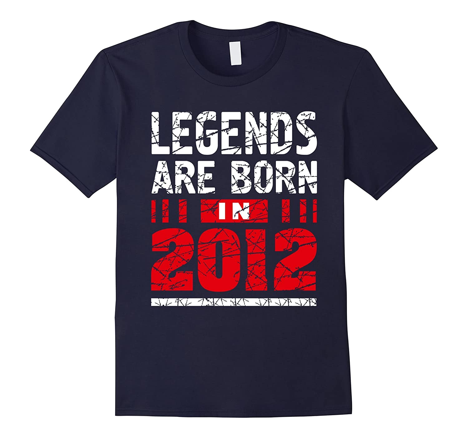 5 years old 5th Birthday B-day Gift Legends 2012 T Shirt-ANZ