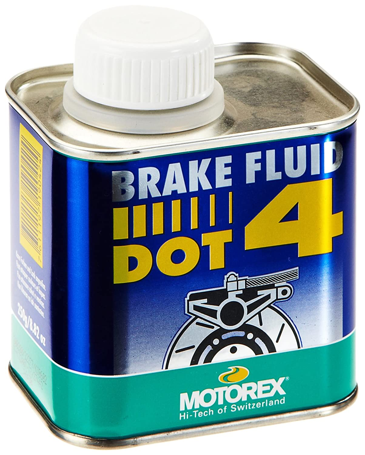 MOUNTAIN MOTOREX liquide de frein DOT4  –   Bleu, 0,25  litres 25 litres Integrated Supply Network - Do Not Use 82.100802
