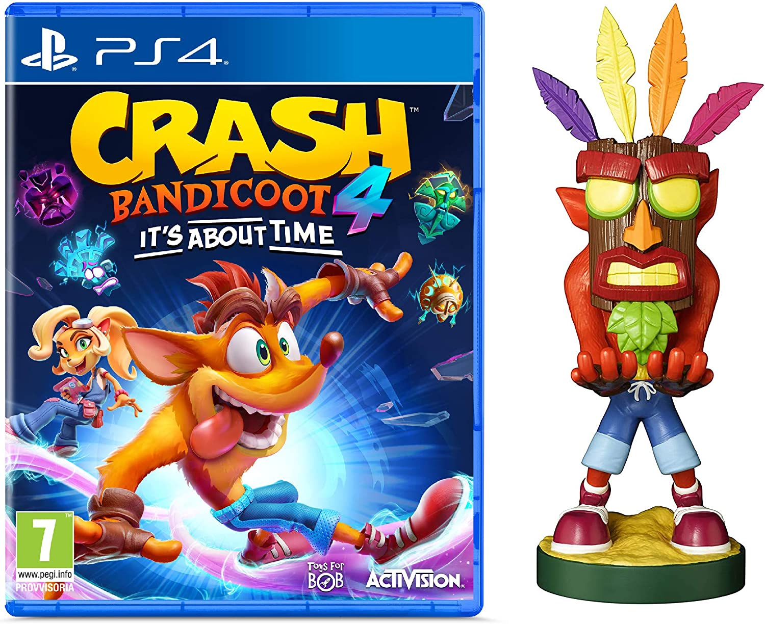 crash bandicoot 4 limited edition statuetta