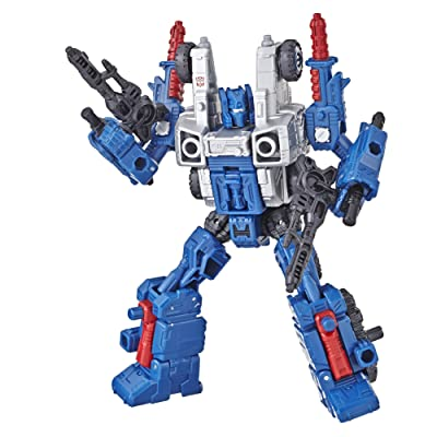 Transformers Generations War for Cybertron: Siege Deluxe Class WFC-S8 Cog Weaponizer Action Figure: Toys & Games