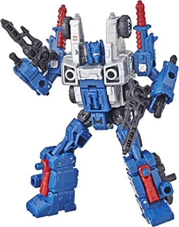 Hasbro Transformers War for Cybertron Earthrise Micromasters Military Patrol Ac