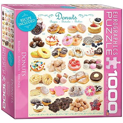 Sonstige Small Box Donuts 1000Piece Puzzle