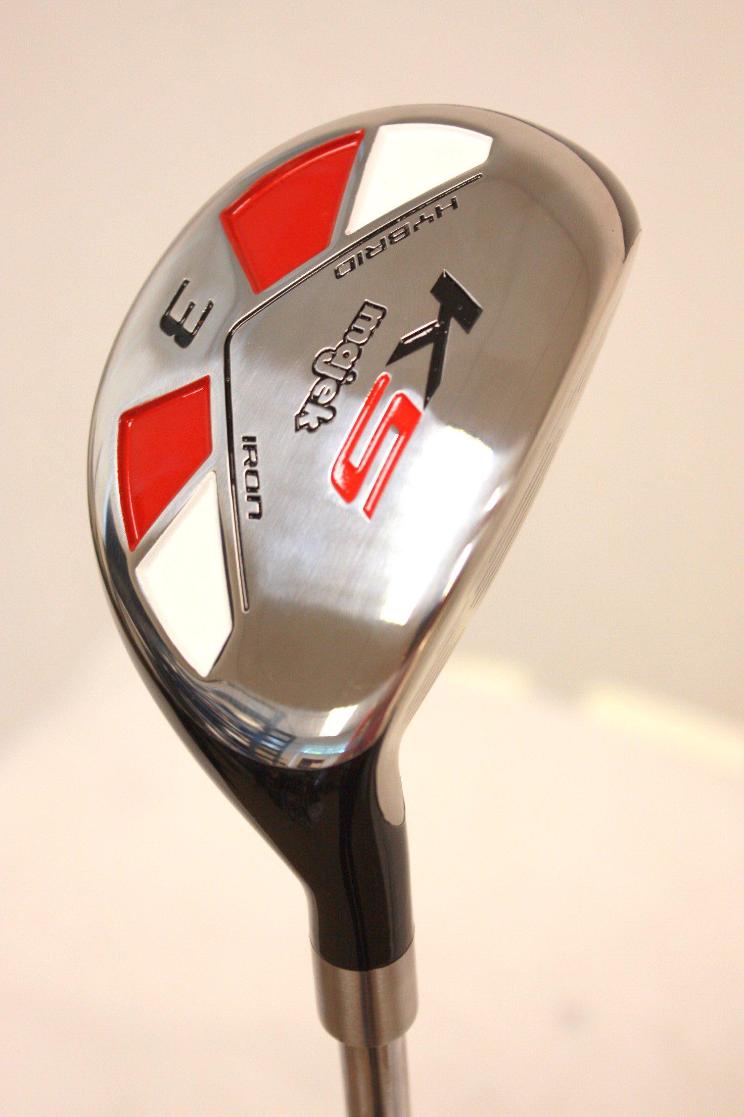 Majek Golf All Hybrid #3 Regular Flex Right Handed New Utility R Flex Club by Majek