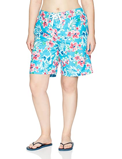 38e78fc1be Kanu Surf Women's Plus-Size UPF 50+ Quick Dry Active Prints Ii Swim  Boardshort at Amazon Women's Clothing store: