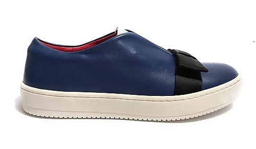AURORA - Zapatillas de Piel para Mujer Azul Turquesa Azul Size: 36: Amazon.es: Zapatos y complementos