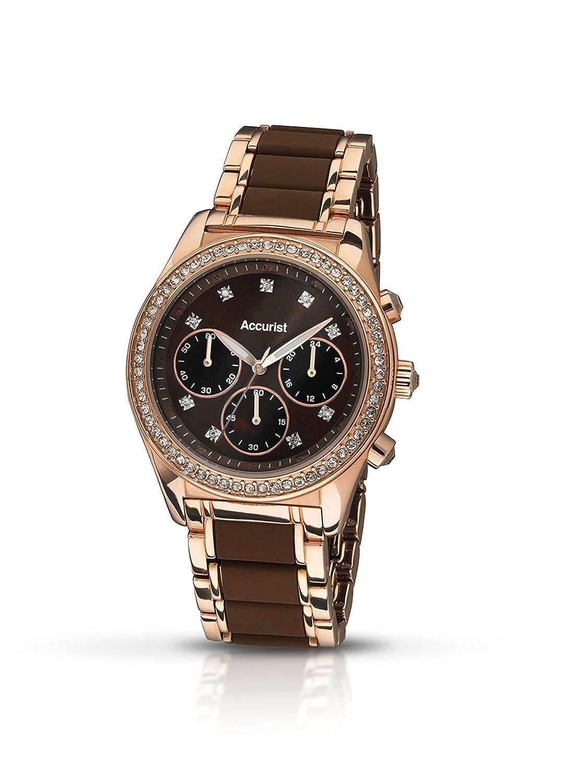 Accurist Damen-Armbanduhr Analog Analog LB211BR.01