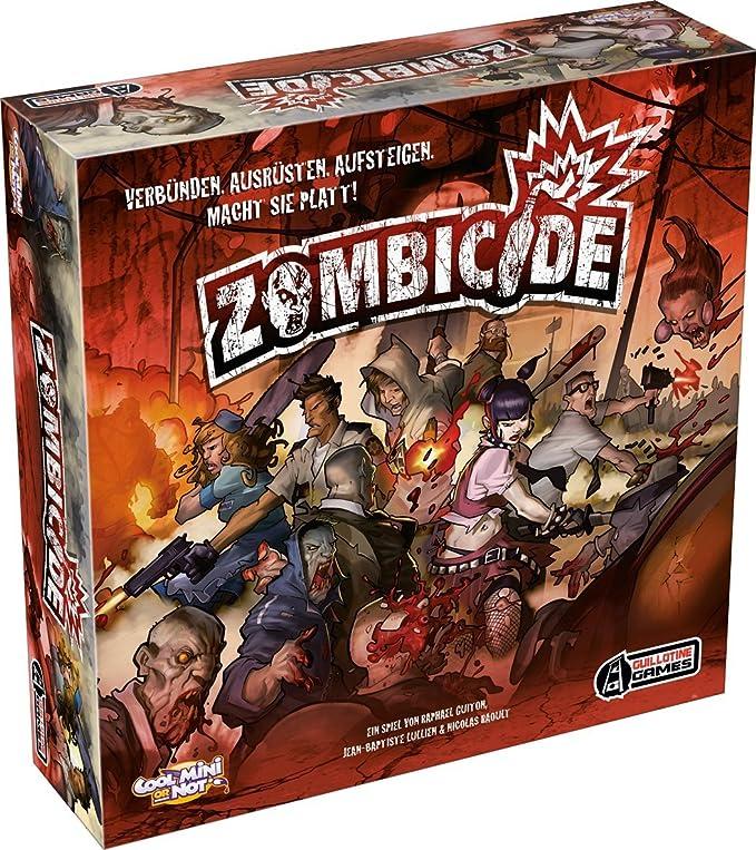 Asmodee - Zombicide, Juego de Tablero, de 1 a 6 Jugadores (versión en alemán): Amazon.es: Juguetes y juegos