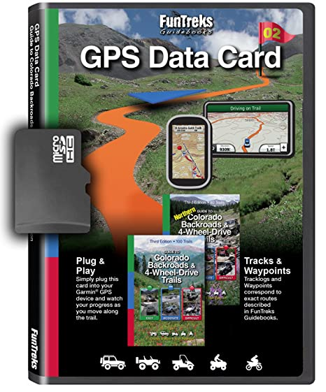 amazon com gps data card for guide to colorado backroads 4 wheel rh amazon com Trimble GPS Tutorial Trimble GPS Tutorial