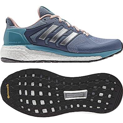 sports shoes a4384 e4a41 Adidas Supernova St W, Chaussures de Tennis Femme, Bleu (Azusen Ftwbla