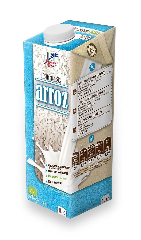 Bebida de arroz - La Finestra sul Cielo - caja de 6 uds de 1000 ml. (Total 6000 ml.): Amazon.es: Alimentación y bebidas