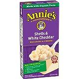 Annie's Shells & White Cheddar Mac & Cheese Macaroni & Cheese Natural 6 oz Box