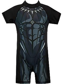 Amazon.com: Marvel Boys Captain America Swimsuit: Clothing