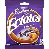 Cadbury Chocolate Eclairs 130 g (Pack of 12)