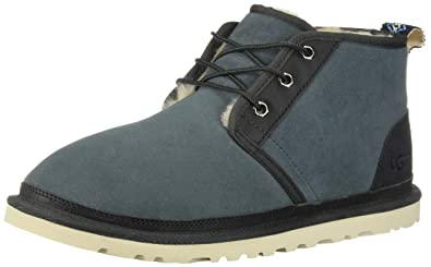 UGG Men's Neumel Two-Toned Chukka Boot, Salty Blue, 7 M US