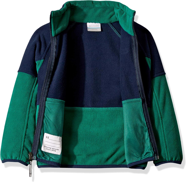 Columbia Youth Basin Trail Fleece Full Zip Jacket Soft Fleece Classic Fit