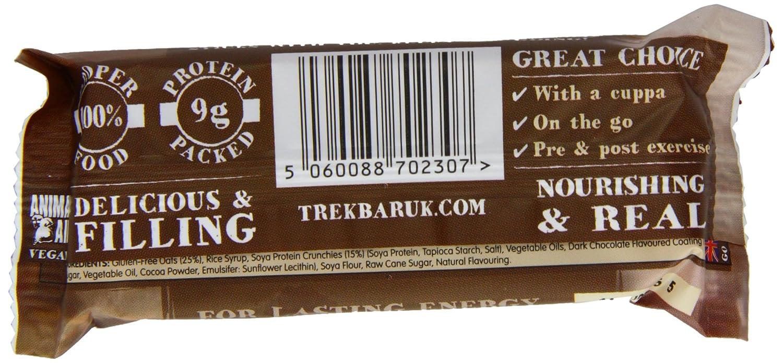 Trek Barritas Proteicas de Cereales sin Gluten, Coco, Proteína y Cacao - 16 Barras: Amazon.es: Salud y cuidado personal