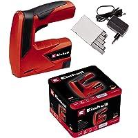 Einhell TC-CT 3,6 Li - Pack con grapadora a batería y 1000 grapas, batería 1.3 Ah,…