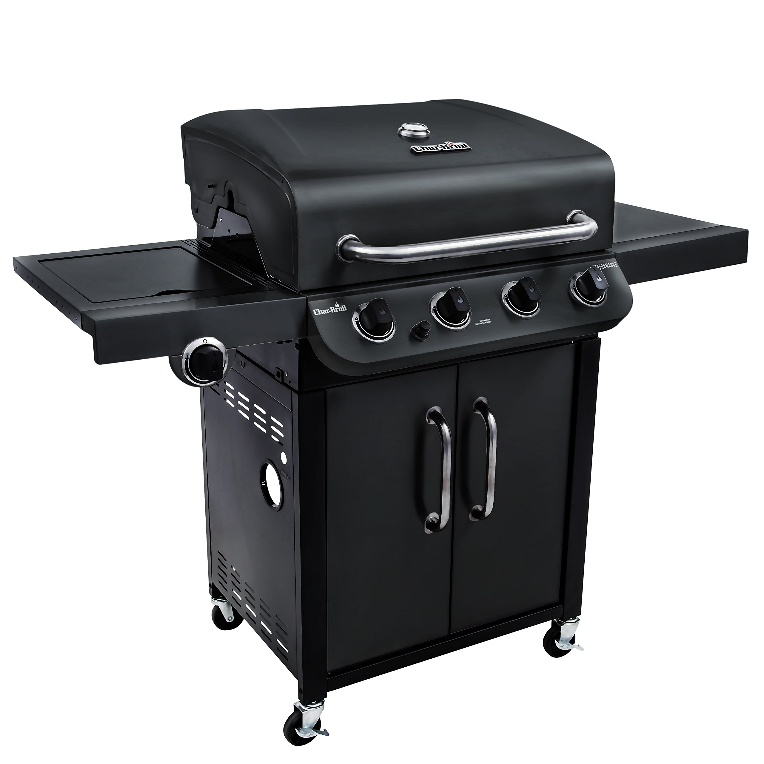Char-Broil Performance 475 4-Burner Cabinet Liquid Propane Gas Grill- Black
