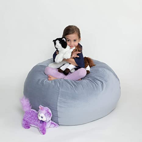 Amazing Xl Stuffed Animal Storage Bean Bag Chair For Kids Stuff Organize Plush Toy Animals 38 Inch Soft Beanbag Covers Only Without Filling Smart Bean Pdpeps Interior Chair Design Pdpepsorg