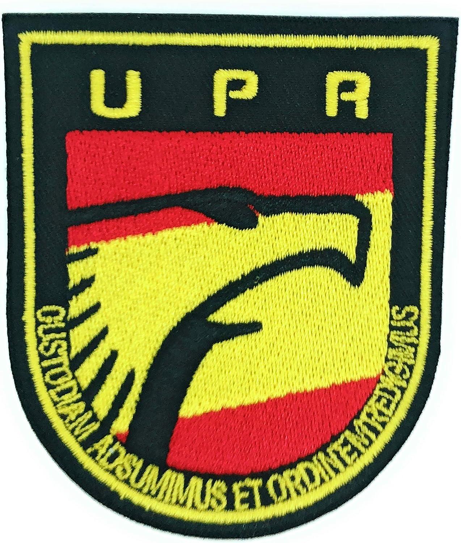 Gemelolandia Parche Termoadhesivo Policia Unidad de Prevención y Reacción UPR 9cm: Amazon.es: Ropa y accesorios