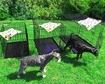 Avc Xl Pet Dog Puppy Cat Metal Foldable Carry Transport Training Cage Crate Xl Amazon Co Uk Pet Supplies