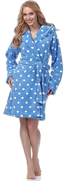 Merry Style Bata Ropa de Casa Lenceria Mujer MSFX983: Amazon.es: Ropa y accesorios