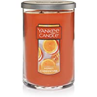 Yankee Candle Large 2-Wick Tumbler Candle, Honey Clementine