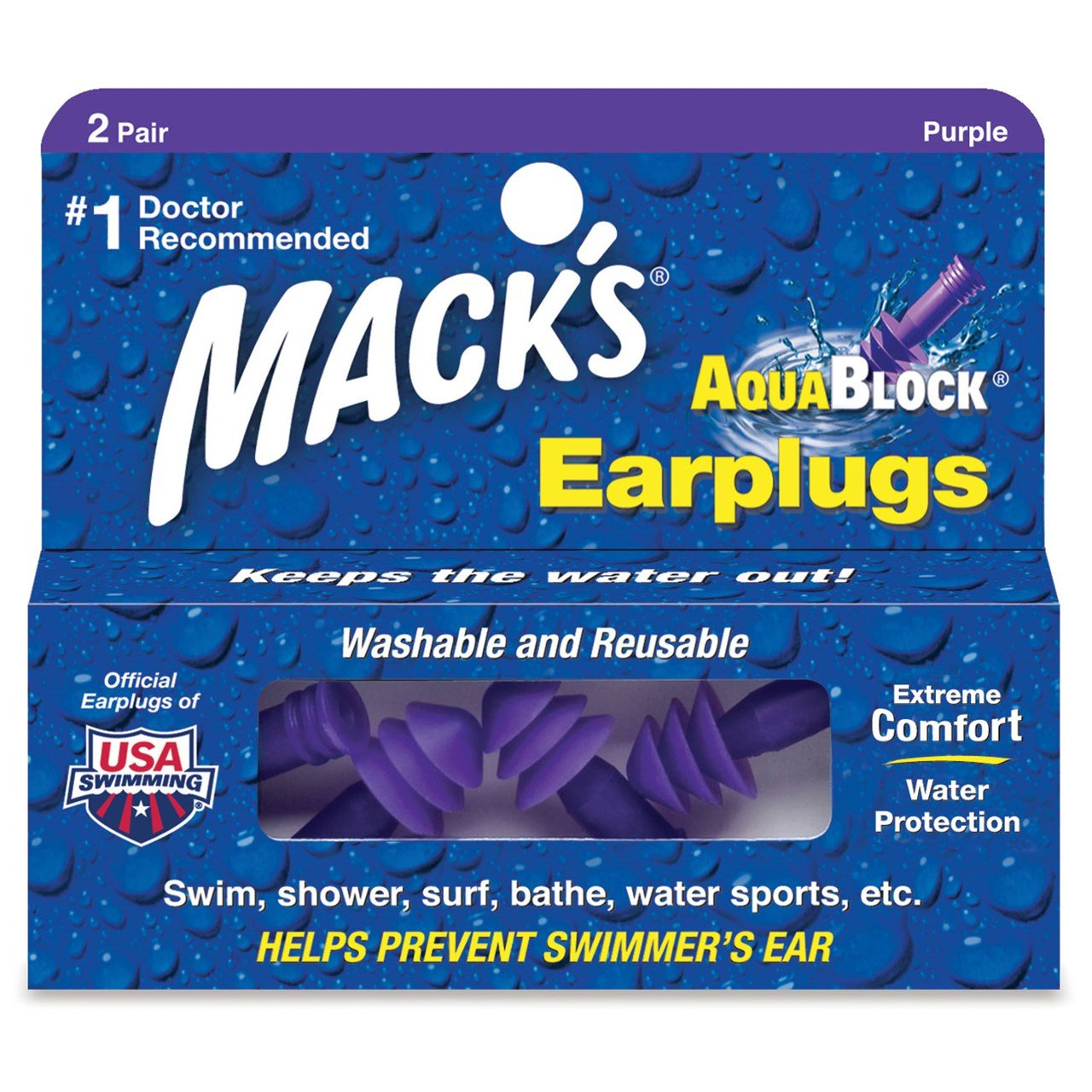 Best Earplugs For Swimming 1